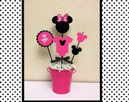 baby minnie mouse baby shower minnie mouse baby shower etsy