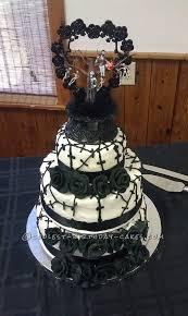 cool nightmare before wedding cake wedding