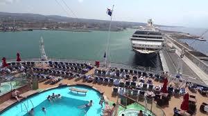 carnival breeze lido deck 12 youtube