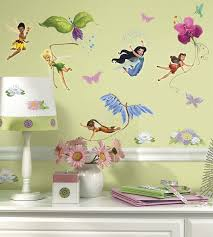 amazon com roommates rmk1493scs disney fairies wall decals with amazon com roommates rmk1493scs disney fairies wall decals with glitter wings home improvement