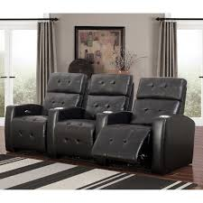 home theater seating dimensions grand 3 piece top grain leather power media recliners living room set