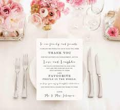 mr mrs wedding table decorations printable wedding thank you card sign wedding reception thank you