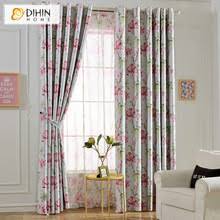 Pink Flower Curtains Compare Prices On Light Pink Curtain Online Shopping Buy Low