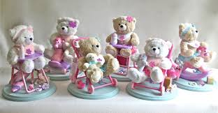 teddy centerpieces for baby shower baby girl teddy shower centerpieces teddy baby shower