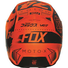 fox motocross clothes fox racing 2016 v2 union helmet orange available at motocross giant