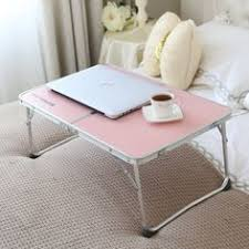 Lap Desk With Pillow Bottom Laptop Desk Cup Holder Light Bed Portable Pillow Stand Table Lamps