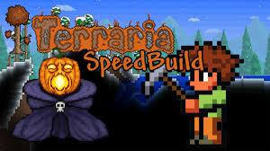 halloween house flags terraria halloween speedbuild haunted house youtube