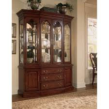 Hutch Buffet by China Cabinet Davis Cabinet Company Lighted China Display And