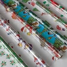 cellophane wrap christmas cellophane wrap asstd pack of 6