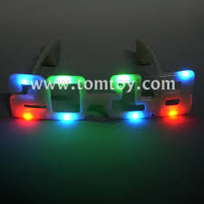 led new years led new year light up glasses 2018 tomtoy
