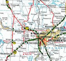 vacaville outlets map interstate guide interstate 505 california