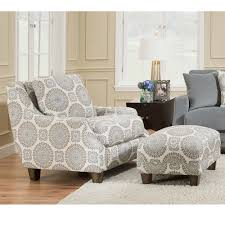 2170 Milan Accent Chair 2175 Matching Ottoman Franklin Furniture