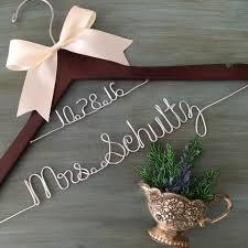 personalized wedding hangers personalized wedding hangers therusticrose