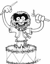 coloring pages cool muppet coloring pages 4cb46azoi muppet