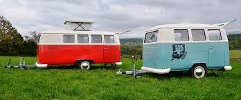 pink volkswagen van dub box home of the cool retro camper caravan