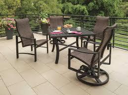 Tropitone Patio Furniture Covers - tropitone kenzo woven dining set kenzowdinset