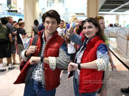 marty mcfly costume marty mcfly and marty mcfly together at ta bay comic con