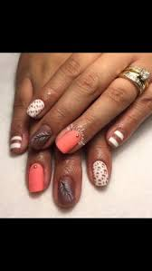 red black and white shellac very cool nail designs nails for