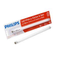 Fluorescent Lights Kitchen by Philips 12 In T5 8 Watt Soft White 2700k Linear Fluorescent