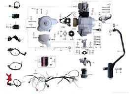 baja 125 pit bike wiring diagram 125 pit bike timing wiring