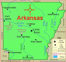 louisiana state map key june 15 1836 arkansas joins the union as the 25th state and