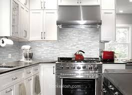 White Backsplash For Kitchen by Brown Subway Tile Kitchen Backsplash Home And Gardening