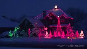 Christmas Lights House by The Amazing Grace Christmas House Holdman Christmas Youtube