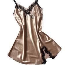 ladies silk satin night dress sleeveless u2013 lolas couture