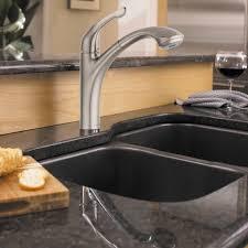 waterridge kitchen faucet nickel water ridge pull out kitchen faucet deck mount single