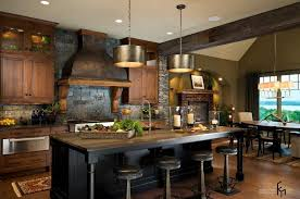 captivating dark grey stone wall ideas for remarkable kitchen with