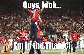Football Meme - can you top these ua football memes arizona wildcats tucson com