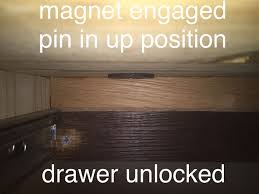 How To Add A Lock To A Desk Drawer 3 Secret Drawer Lock 6 Steps