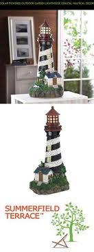 solar lighthouse light kit solar lighthouse color change light garden stakes pack of 2 2