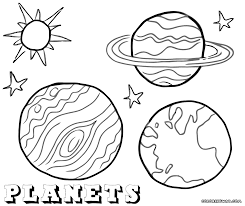 planets coloring pages diaet