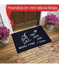 zerbini personalizzati on line prezzi tappeto zerbino hai portato il vino