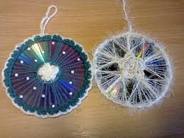 поделки к новому году из сд дисков crafts for the new year from