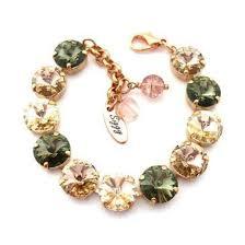rose stone bracelet images Jewels siggy jewelry bracelets swarovski arm candy army green jpg