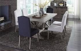 liberty furniture carolina lakes 5 piece trestle table set