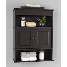 Bathroom Racks And Shelves by Chapter Bathroom Wall Cabinet Espresso Walmart Com