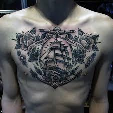 top 75 best sailor tattoos for nautical designs