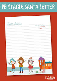 printable santa letters to santa free printable letter to santa love and marriage