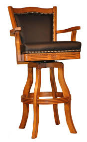 Leather Bar Stools With Back Best 25 Wooden Swivel Bar Stools Ideas On Pinterest Subway