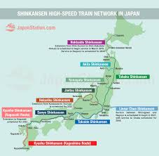 Japan Airlines Route Map by Map Of Shinkansen High Speed Train Network In Japan U2013 Japan Station