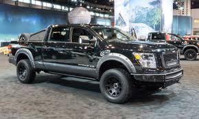 custom nissan cummins 2017 chicago auto show nissan titan king cab autonxt