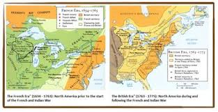 america map before and after and indian war and indian war resource page