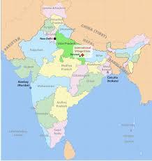 Calcutta India Map by Mission U2014 International Village Clinic