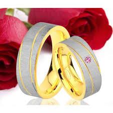 fossil verlobungsringe 2 ringe eheringe trauringe verlobungsringe gold platiert gravur