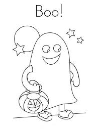 halloween costume coloring pages ghost boo costume halloween