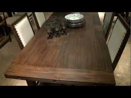 great rooms millhouse rectangular leg dining table by universal