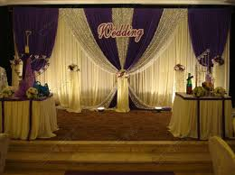 wedding backdrop on stage wedding stage decoration price material soft wedding backdrops